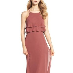 Jenny Yoo Charlie Bridesmaid Dress - English Rose